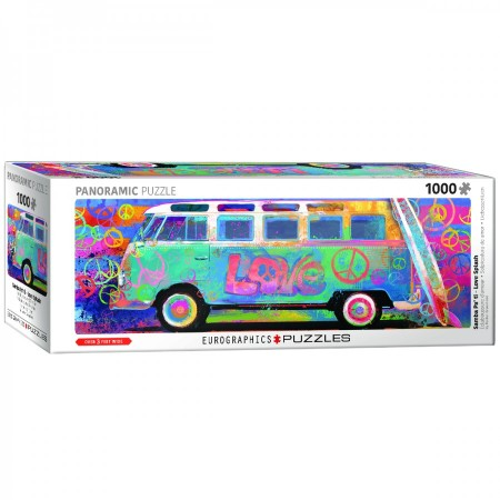 1000 Eurographics panorama - Samba Pa' Ti - Love Bus VW