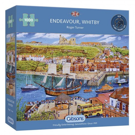 1000 Gibsons - Endeavour, Whitby