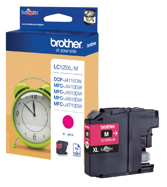Brother LC-125XLM rood