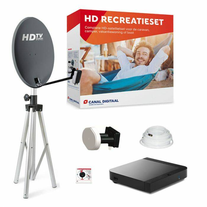 Complete recreatie set Canal Digitaal