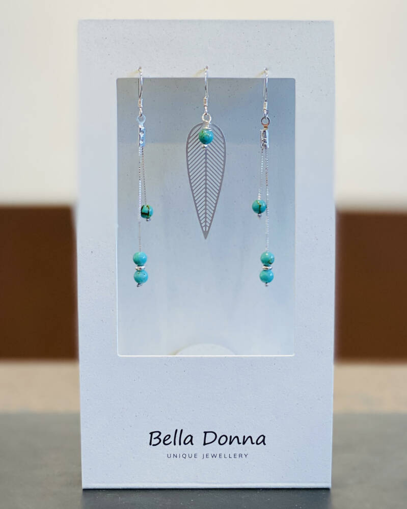 The Doubter Turquoise & Silver