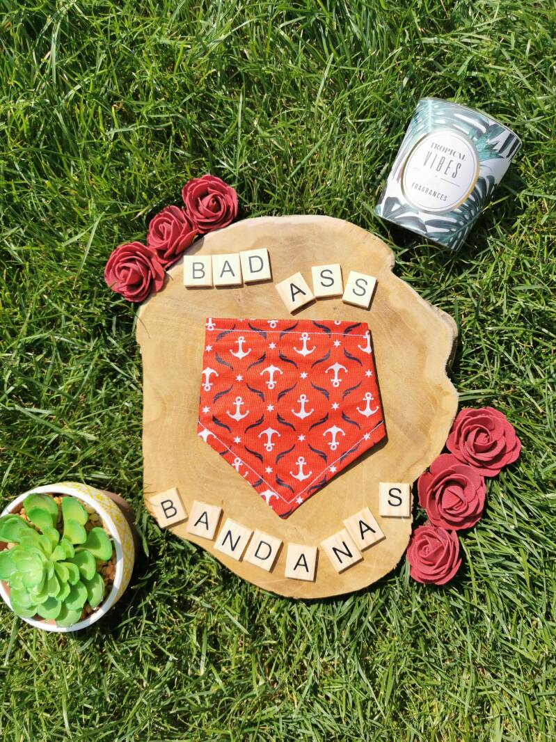 Bandana ANCHOR RED