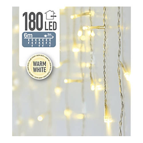 Kerstverlichting 180 LED ijspegel