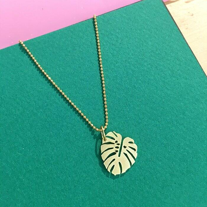 All Things We Like Gouden Ketting Monstera