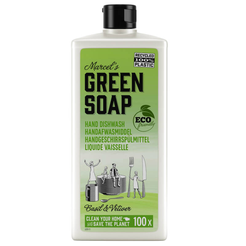 Marcel's Green Soap Afwasmiddel Basilicum & Vetiver 500ml