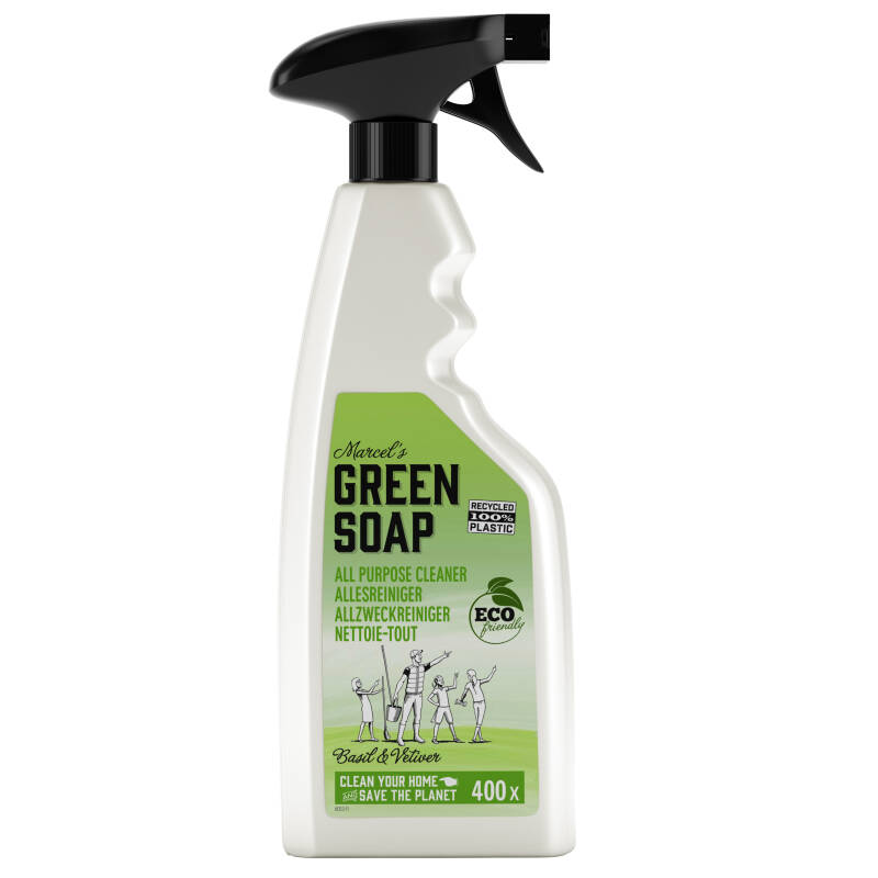 Marcel's Green Soap Allesreiniger Spray Basilicum & Vetiver 500ml