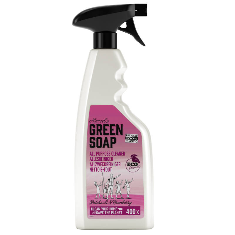 Marcel's Green Soap Allesreiniger Spray Pachouli & Cranberry 500ml