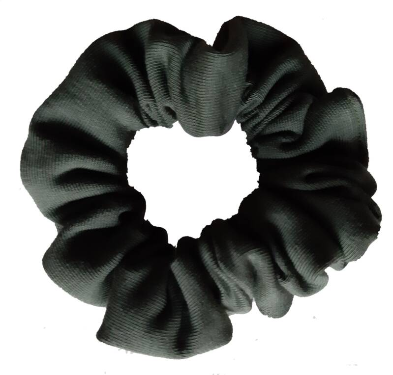 By Von Handmade Scrunchie Legergroen
