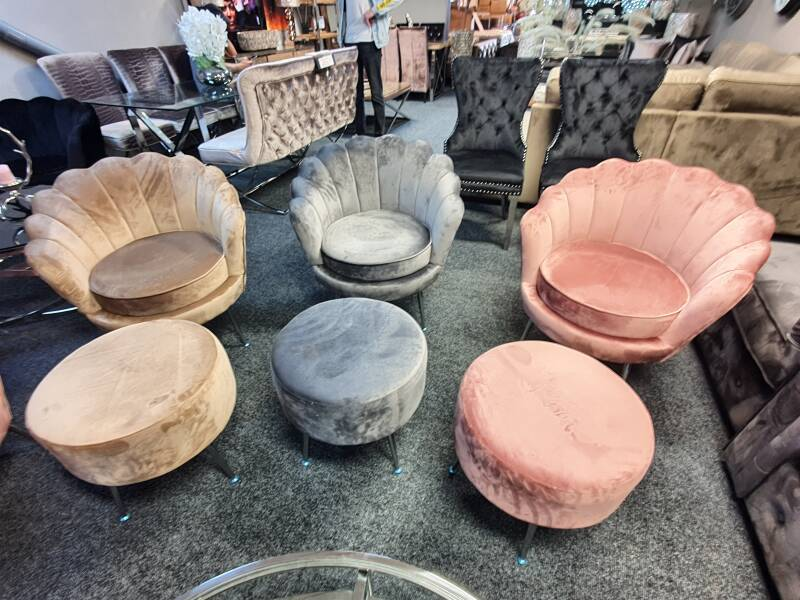 fauteuil incl poef