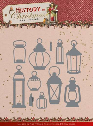 Dies - Amy Design - History of Christmas - All Kinds of Lanterns