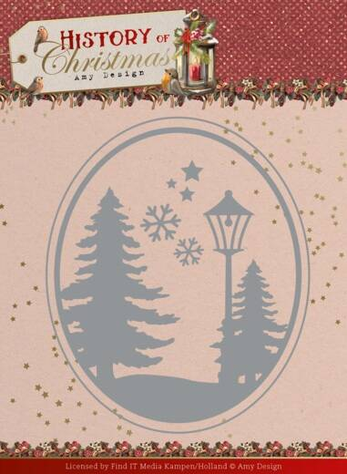 Dies -Amy Design - History of Christmas - Christmas Landscape
