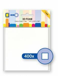 3D Foam blokjes 1,0mm