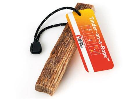 Tinder on a rope / fatwood