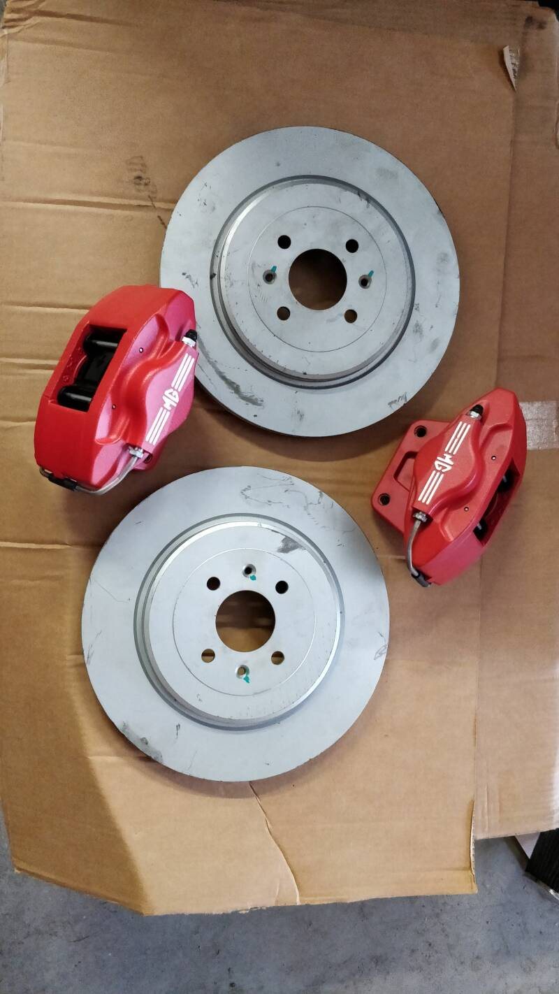 AP 2 pot big brake kit 304mm