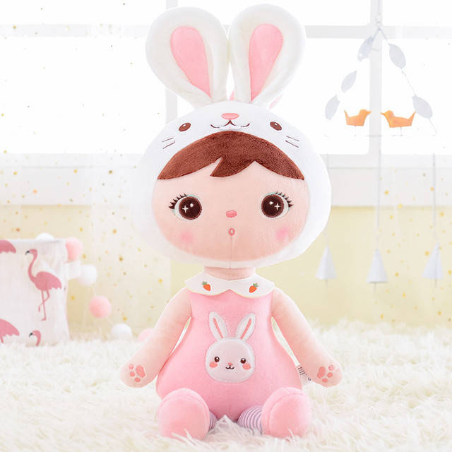 Rabbit doll pink