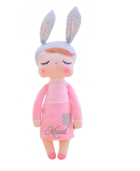 Baby knuffel - bunny pink