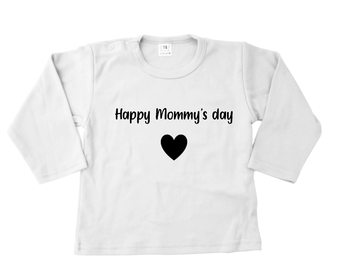 Shirt | Happy mommy's day | Wit