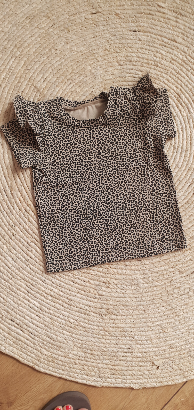Ruffle shirt | Cheetah