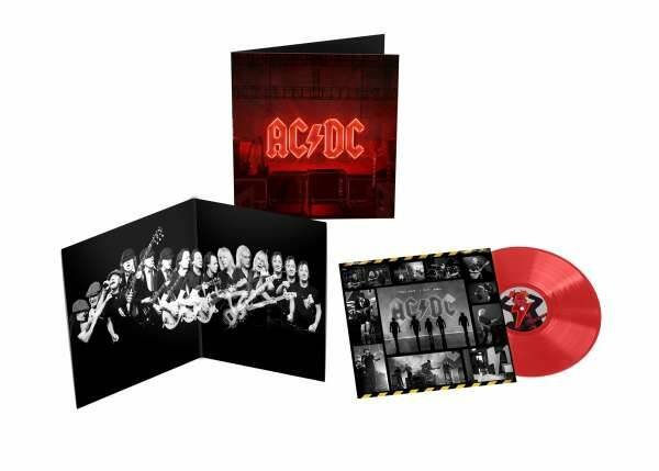 ACDC - Back in black LP ( limited edition,  red vinyl)
