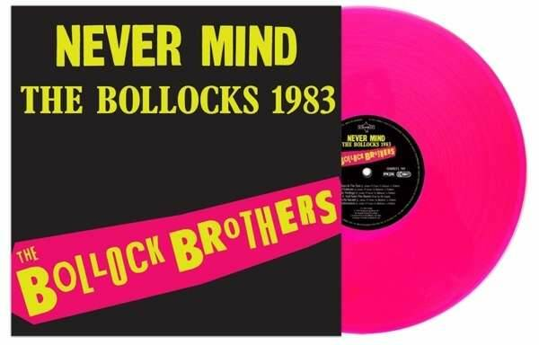Bollock Brothers - Never Mind The Bollocks 1983 (remastered) (180g) (Limited Edition) (Neon Pink Vinyl) LP