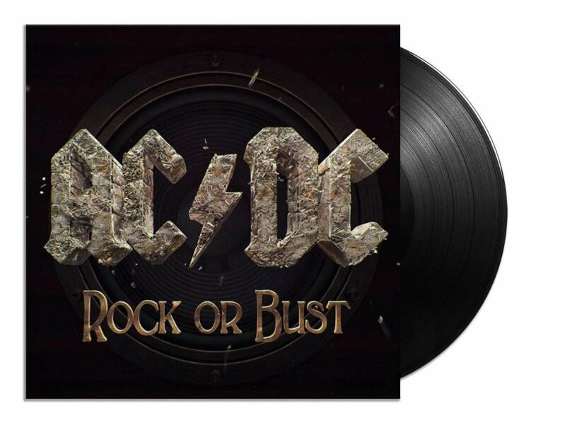 ACDC Rock or Bust 1 X LP