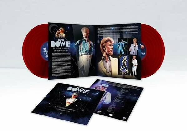 David Bowie - Live at Montreal 1983 2 x LP (red vinyl)