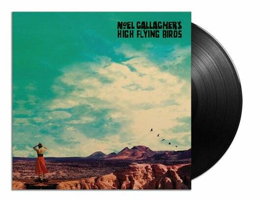 Noel Gallaghers  High Flying Birds - Who Built The Moon LP