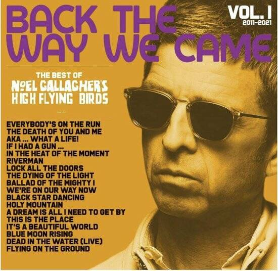 Noel -High Flying Birds- Gallagher Back the Way We Came 3 X LP