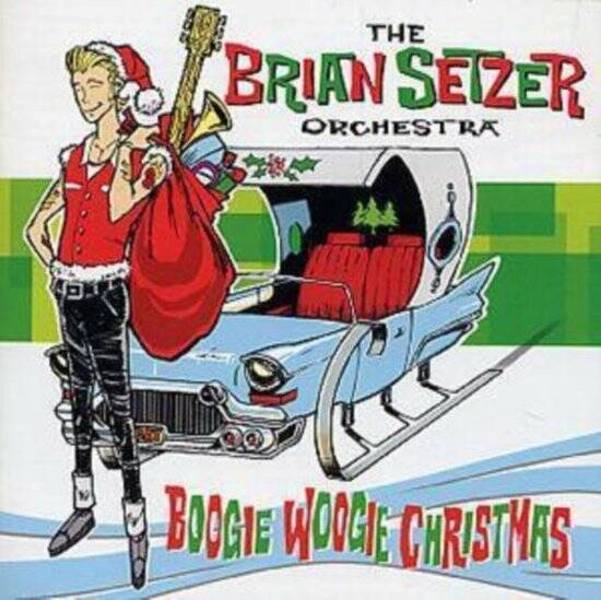 The Brian Setzer Orchestra - Boogie Woogie Christmas LP