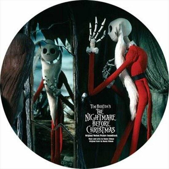 Tim Burton's - The Nightmare Before Christmas (picture disc) LP