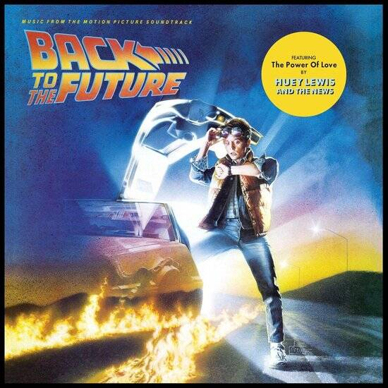 Back to the Future Soundtrack 1 X LP