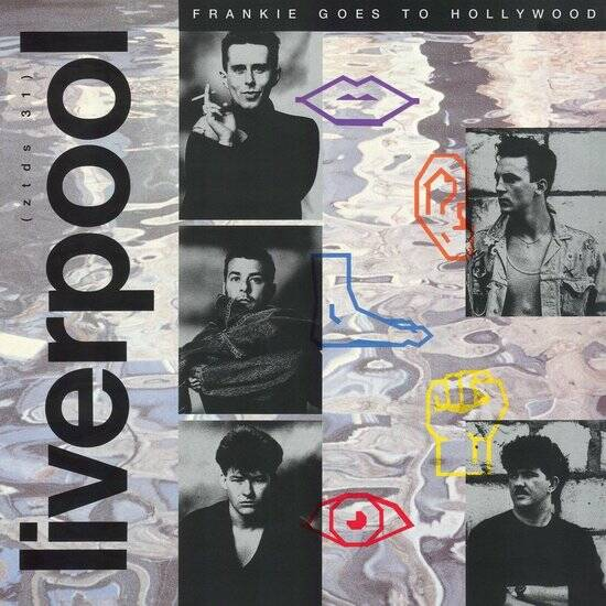 Frankie Goes to Hollywood Liverpool 1 X LP