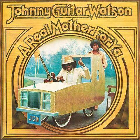 """Johnny """"Guitar"""" Watson- A Real Mother For You LP"""