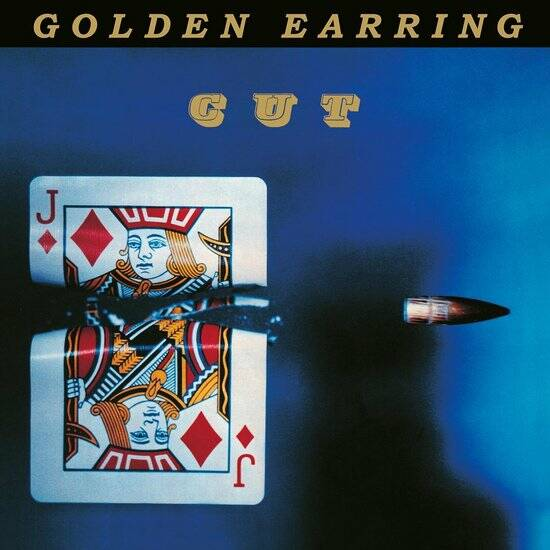 Golden Earring -Cut  Limited Edition gold coloured