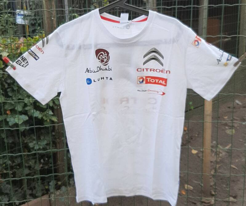 T-shirt citroen racing (origineel)