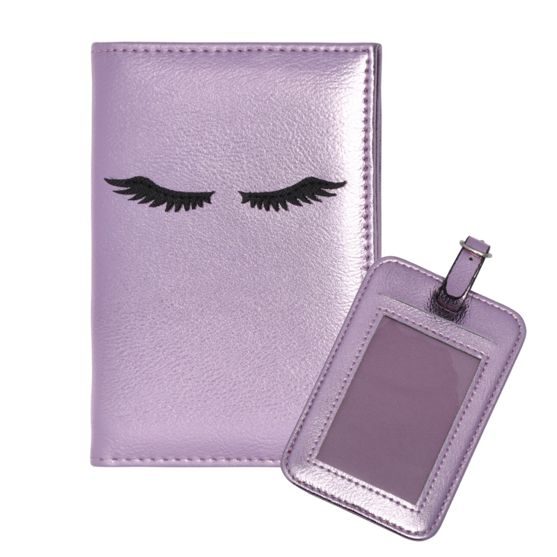"Travel set ""Lashes"" Paars"
