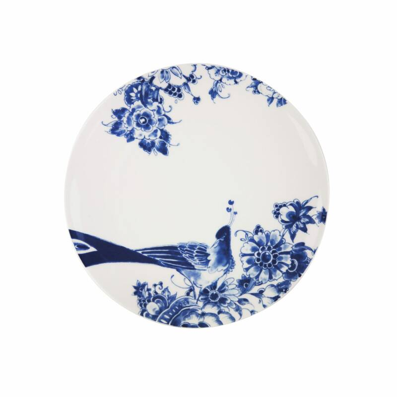 Royal Delft | Peacock Symphony | dinerbord coupe | 26 cm.
