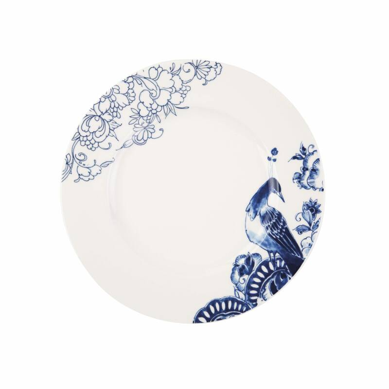 Royal Delft | Peacock Symphony | dinerbord | 27 cm.