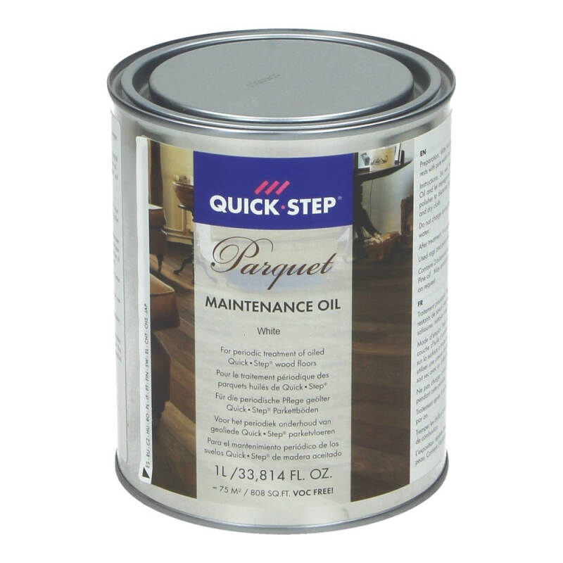 Quick-Step maintenence oil Wit 1 Liter