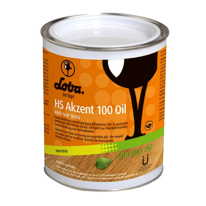 Lobasol HS Akzent 100 Oil Antique Oak 0,75L