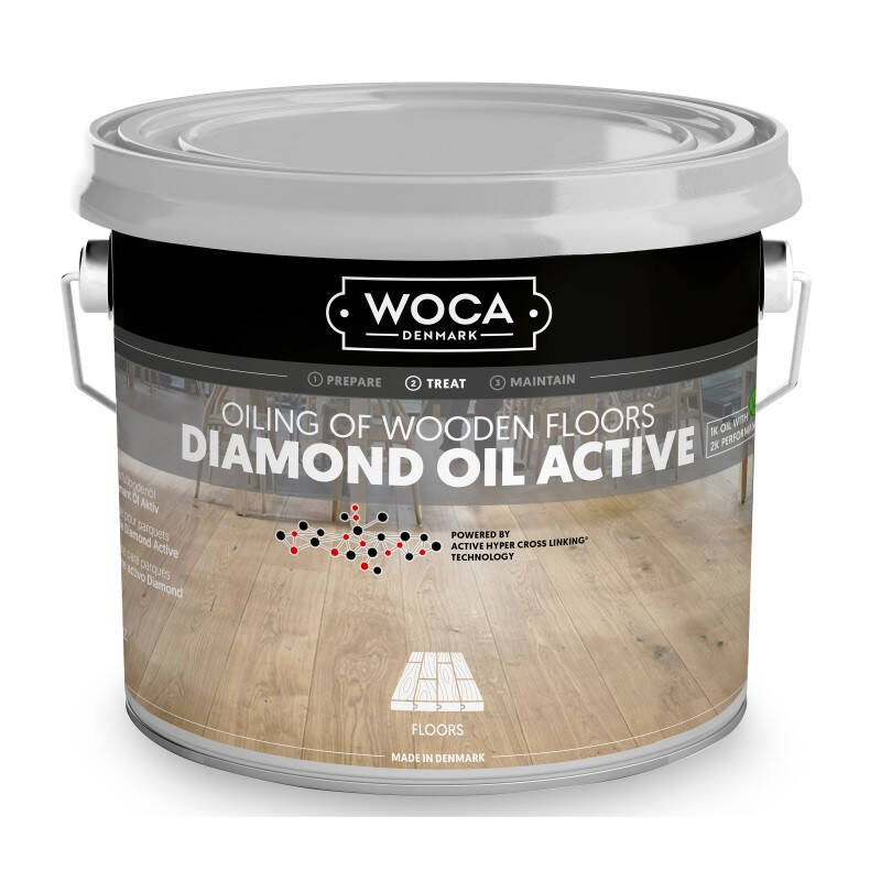 Woca Diamond Oil Active Extra Wit