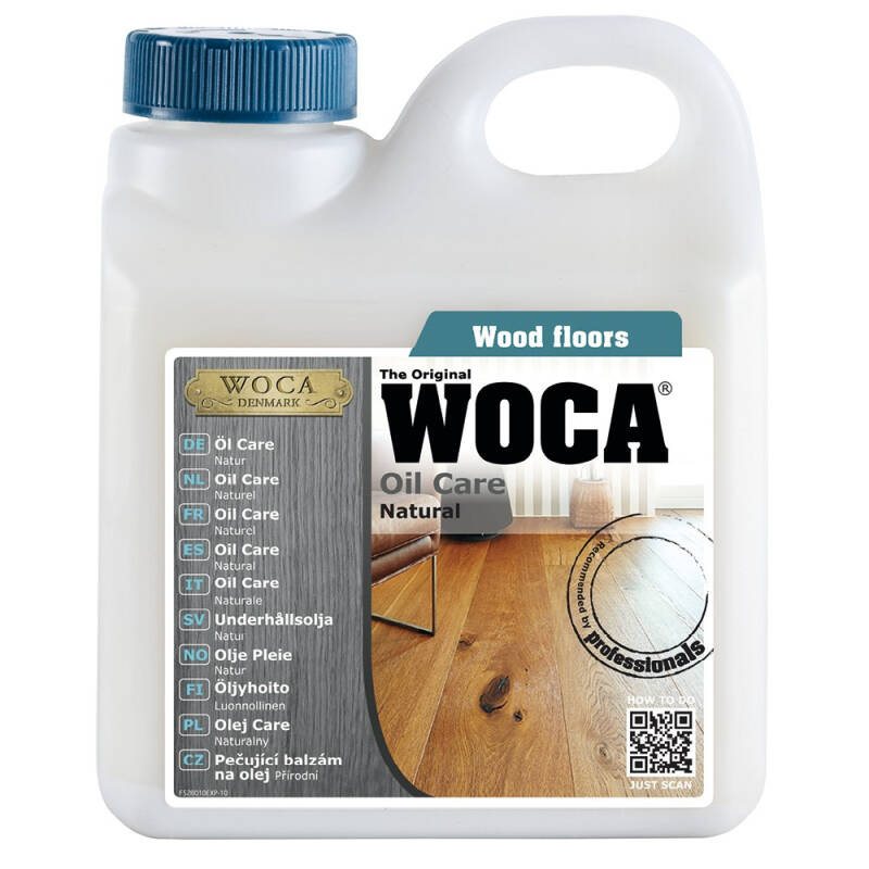 Woca Oil Care Naturel 1 Liter