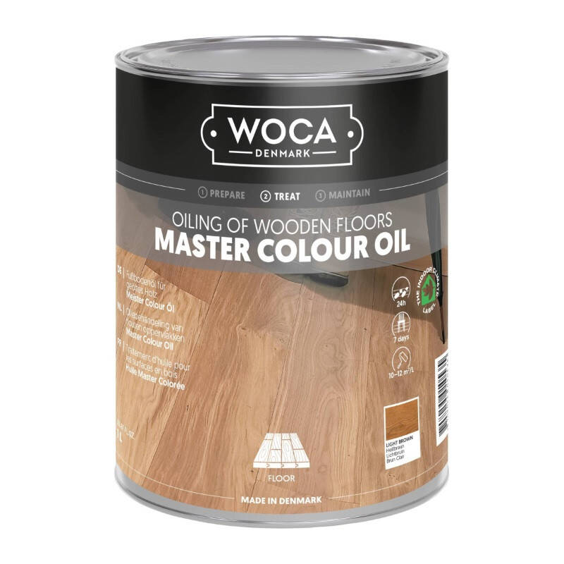 Woca Master Color Oil 101 Light Brown