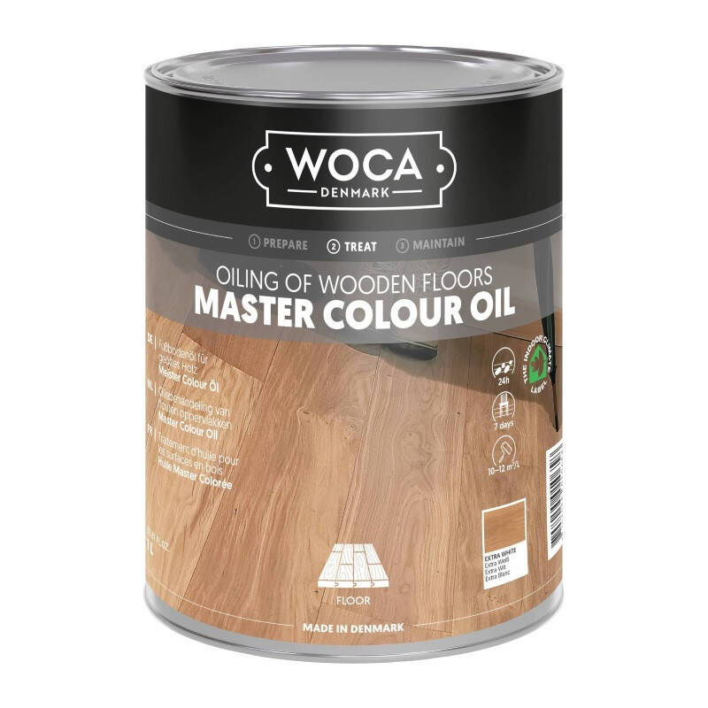 Woca Master Color Oil 118 Extra Wit 1L