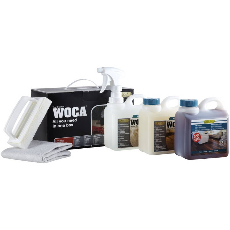 Woca maintenance box Wit