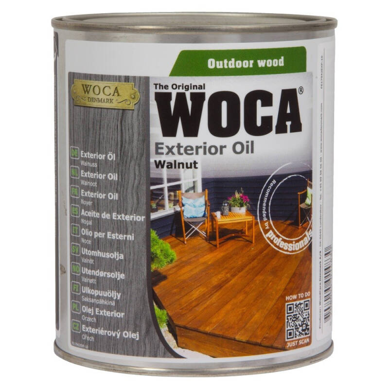 WOCA Exterior Oil Walnoot
