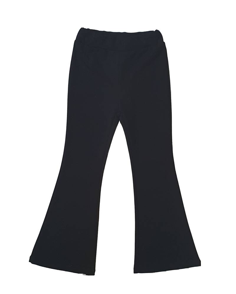Flared pants - Zwart