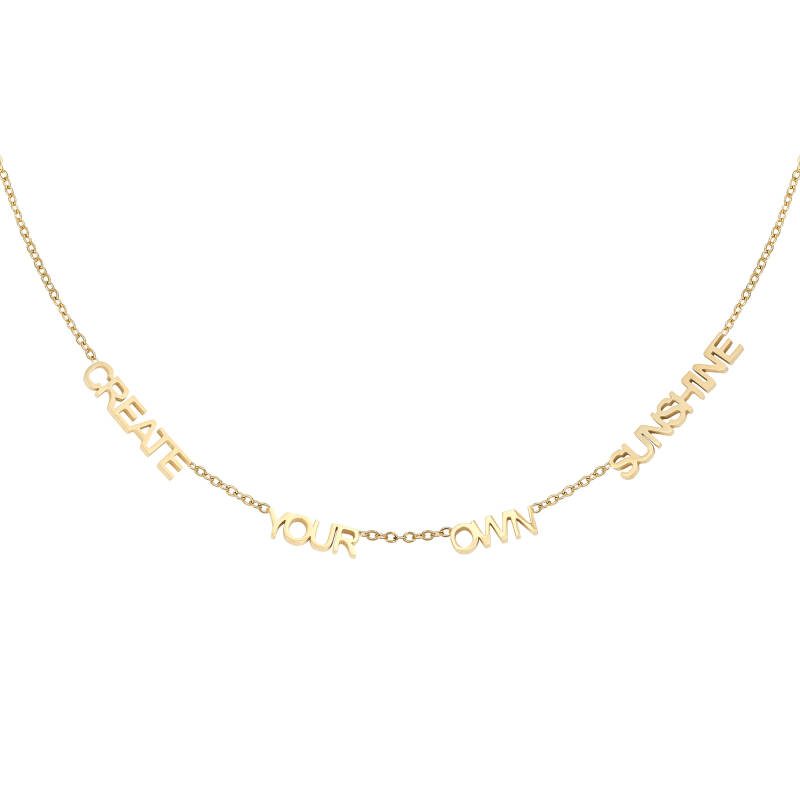 Ketting Create Your Own Sunshine