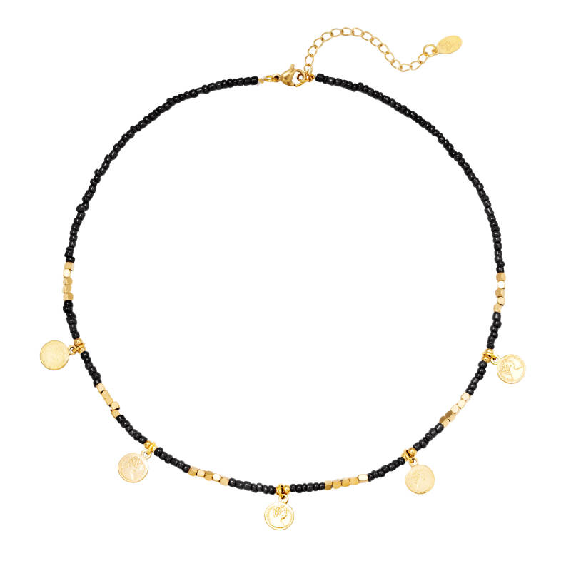 Ketting Beads And Coins