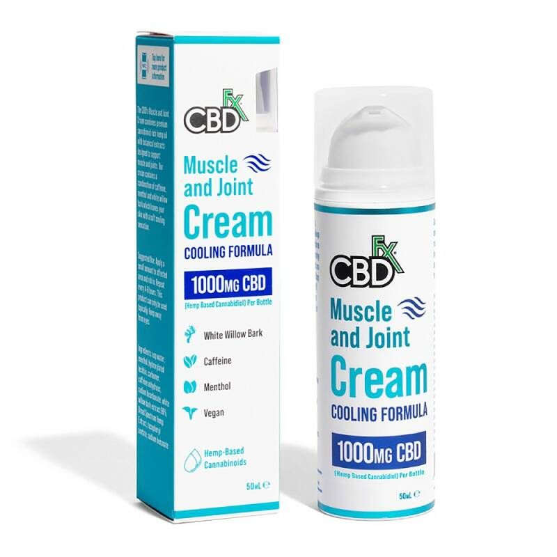 CBDfx Muscle and Joint cream | 1000 Mg CBD